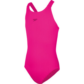speedo Essentials Endurance+ Medalist Costume Ragazza, electric pink